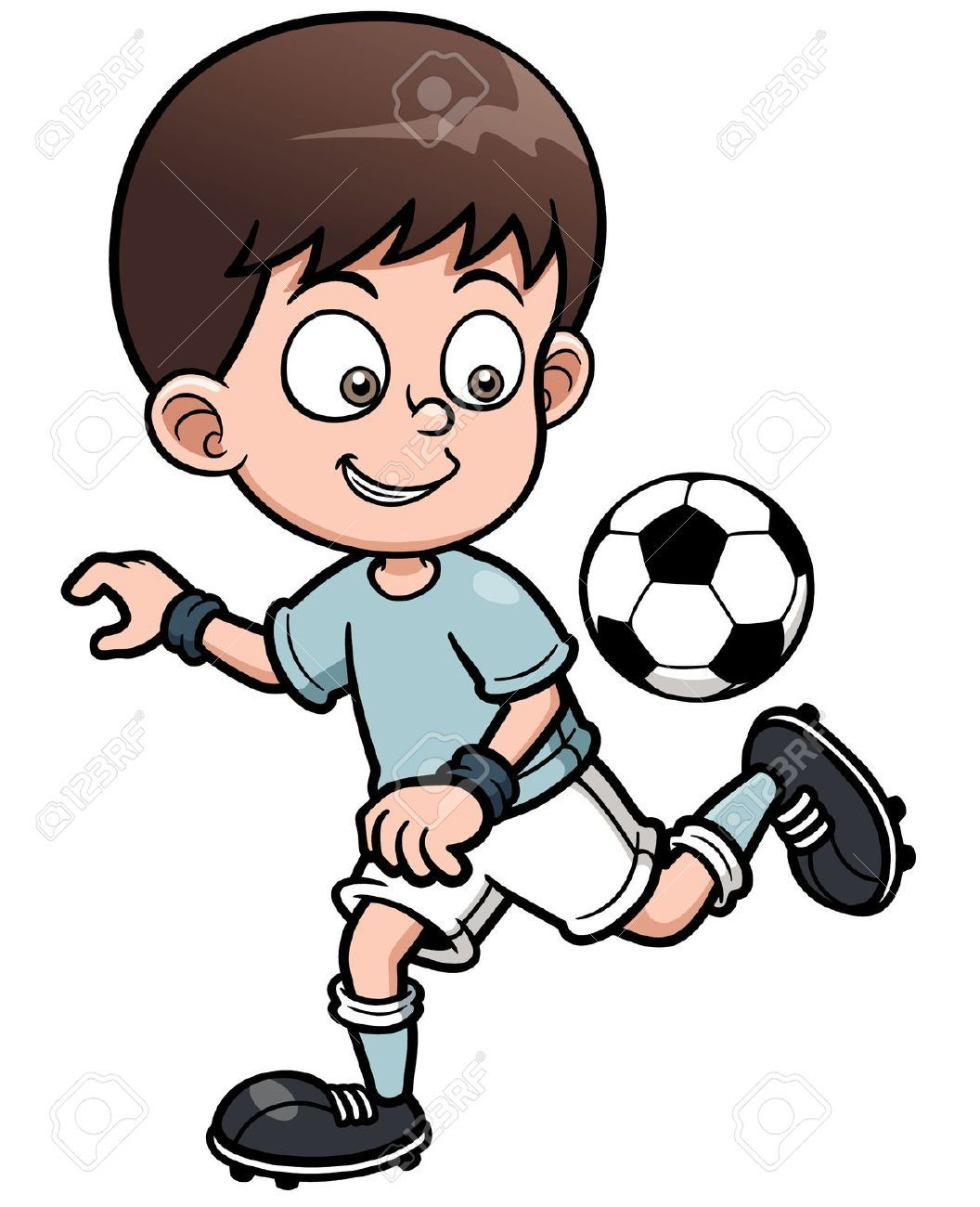 Science vector images over 84 600 vectorstock page 446 - 21453115 Illustration Soccer Player Stock Vector Cartoon Jpg