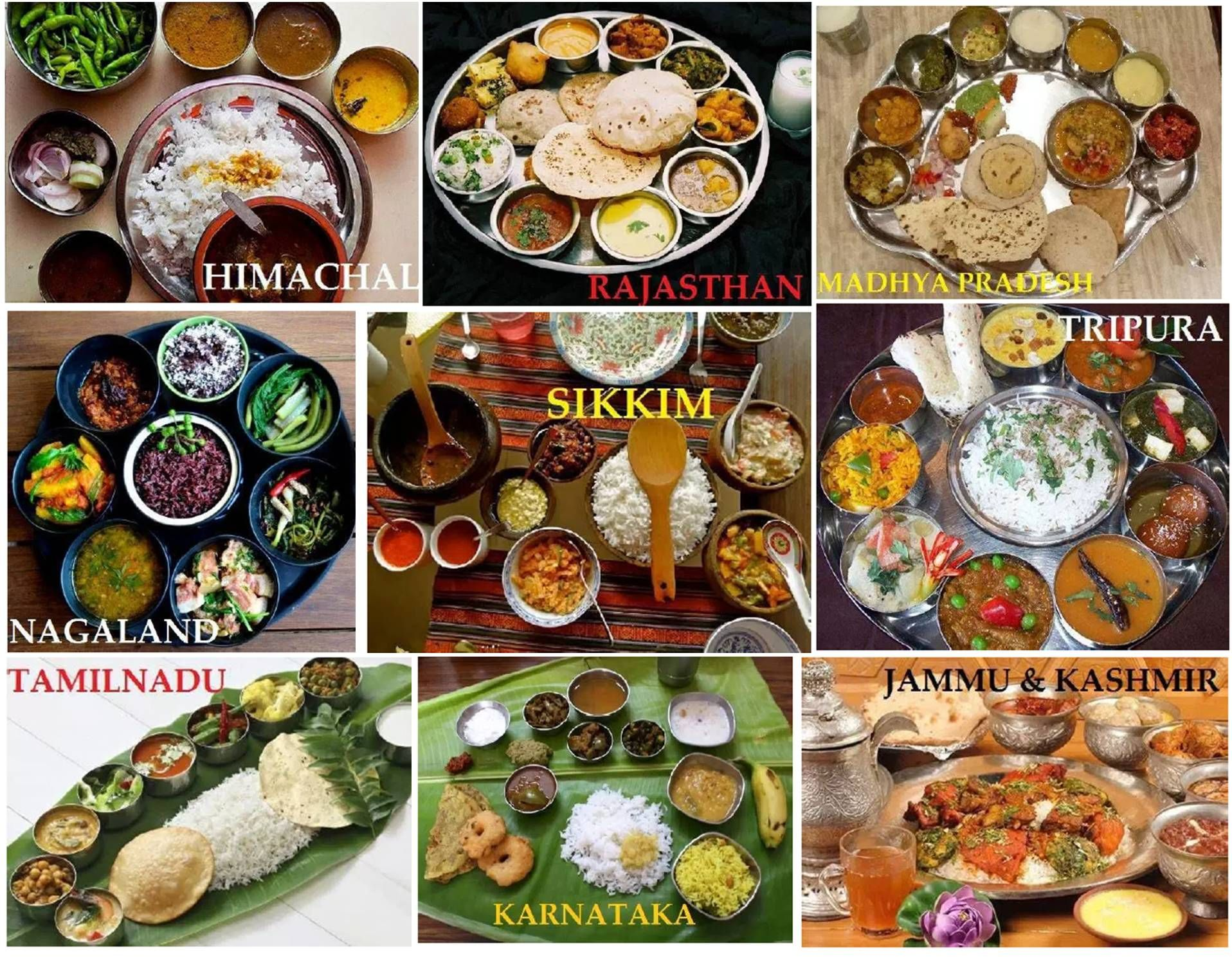 India - Where food comes in different style and taste. Here are few ...