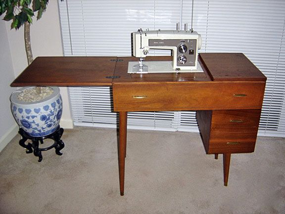 Delightful Kenmore Sewing Machine Cabinet
