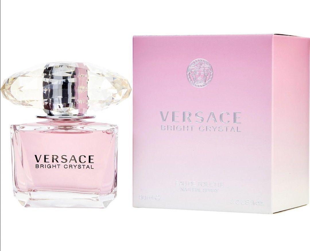 82 08 Versace Bright Crystal For Women Eau De Toilette 3 Oz Versace Bright Crystal Toilette Zara Versace Bright Crystal Versace Fragrance Fragrance