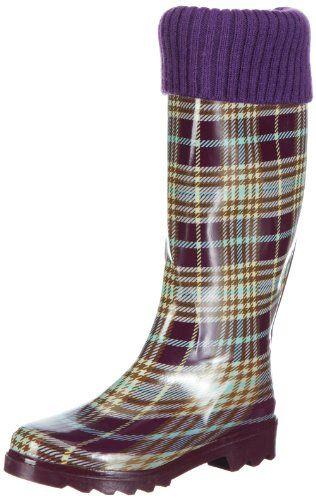 Zapatos lila Beck para mujer IF52Tz