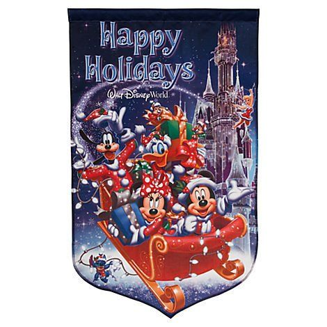 Walt Disney World Happy Holidays Christmas Mickey Minnie Mouse