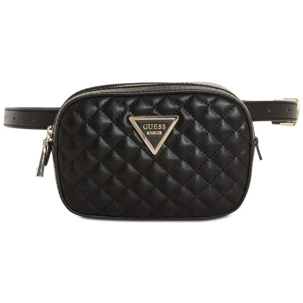 Guess Varsity Pop Mini Belt Bag ( 68) ❤ liked on Polyvore featuring bags cf8ae9616a63b