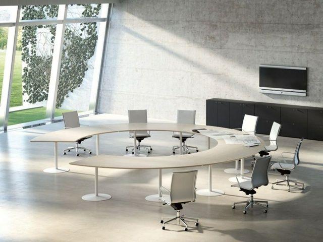 Le mobilier de bureau contemporain et parfois futuriste Salles