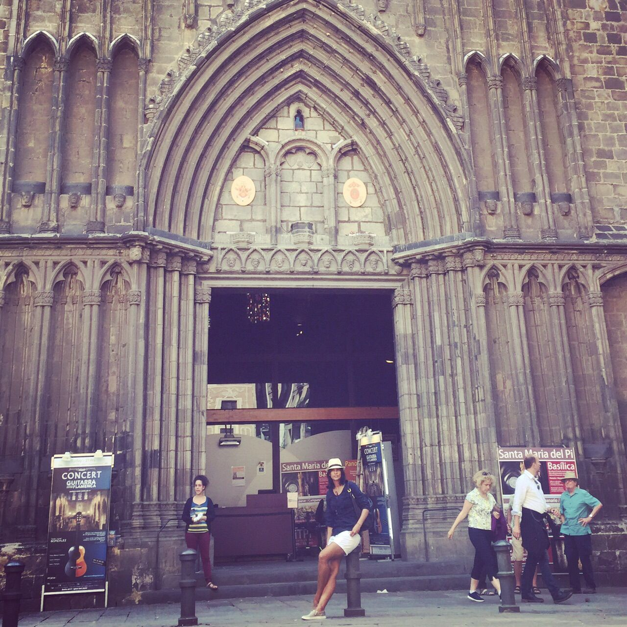 Valencia ... Iglesia nuestra señora del pi
