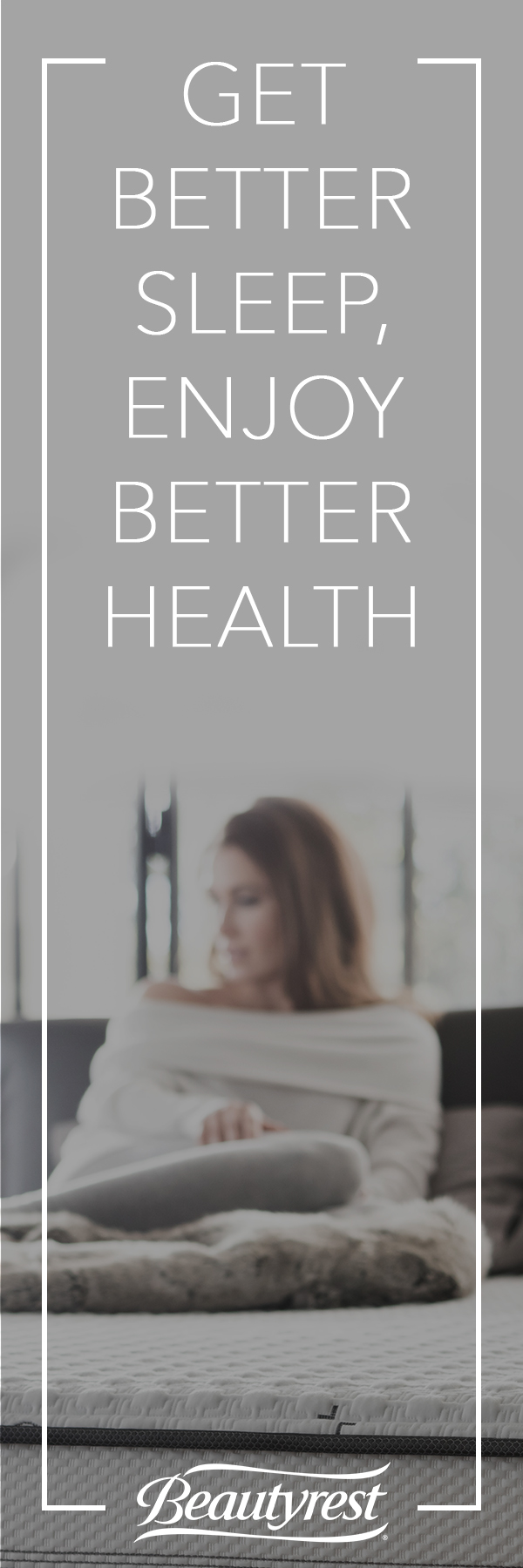 Better Sleep = Better Health. It's that simple, folks