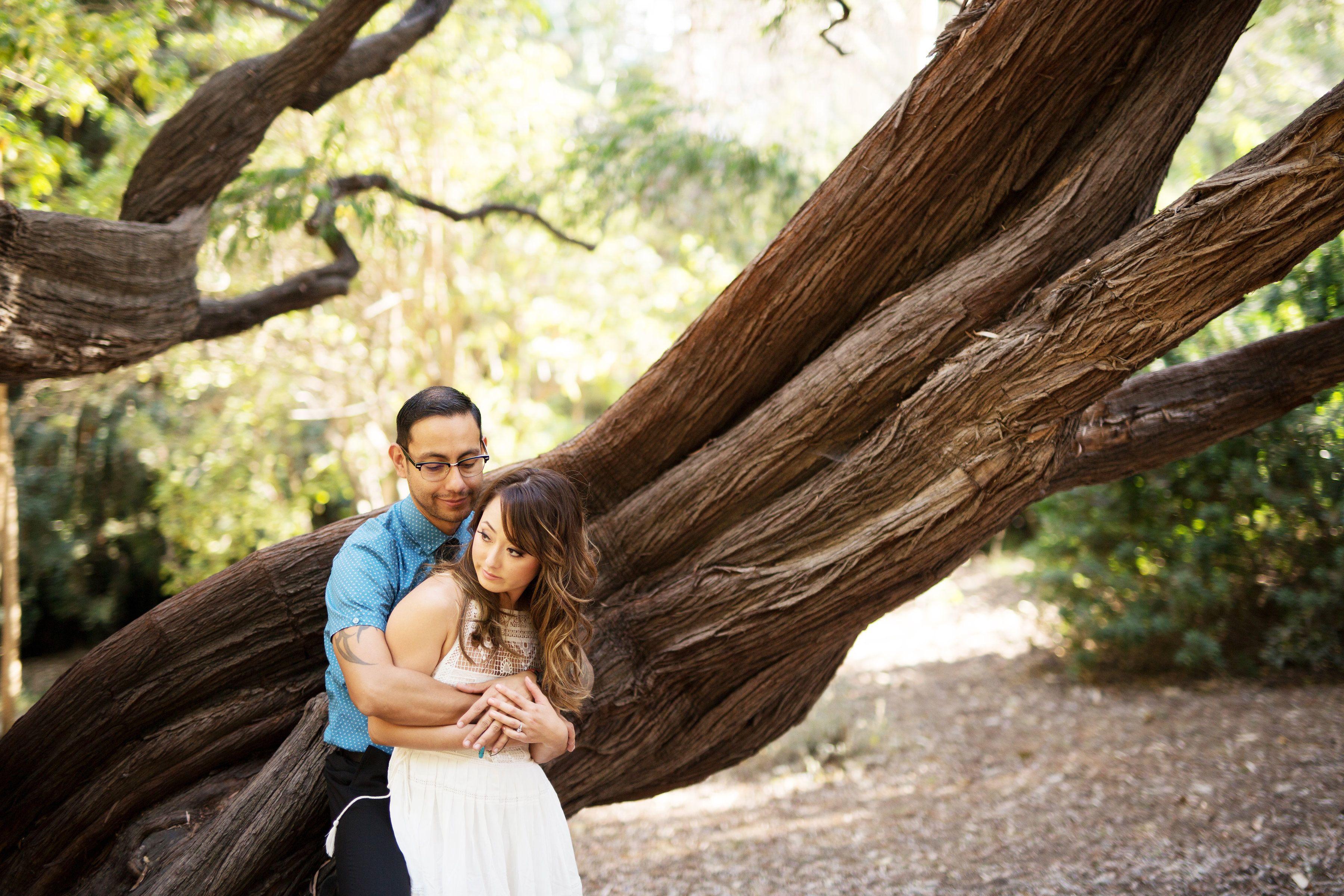 UCLA Botanical Garden, Westwood Engagement Photo | Los Angeles ...