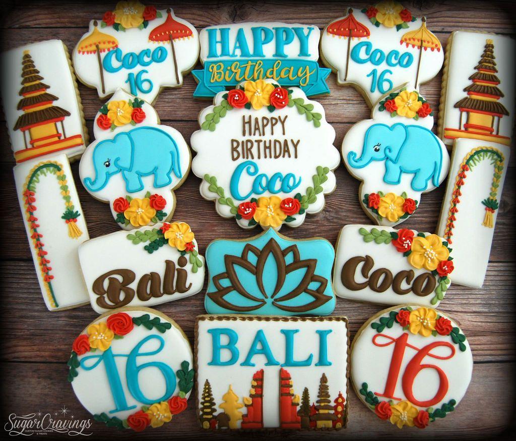 number 11 birthday cookies