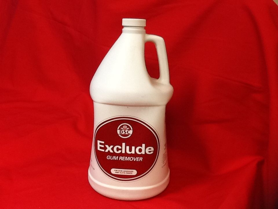 42020 DSC PRODUCTS EXCLUDE CHEWING GUM REMOVER 4 Gallons