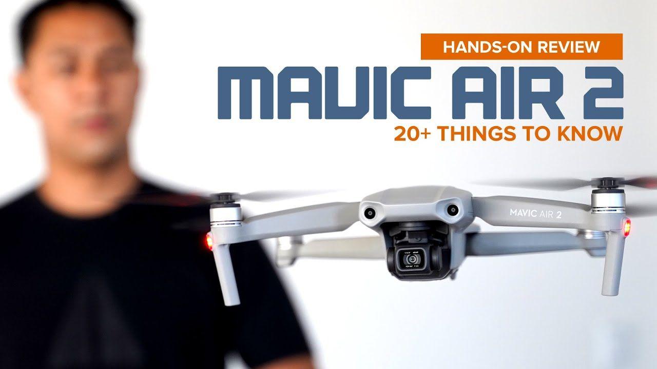 Dji mavic air 2 handson review youtube in 2020