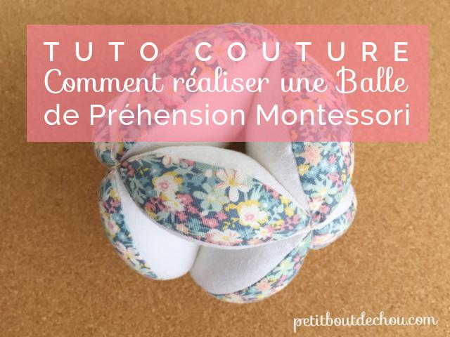 Tuto Couture: Comment Créer une Balle de Préhension Montessori