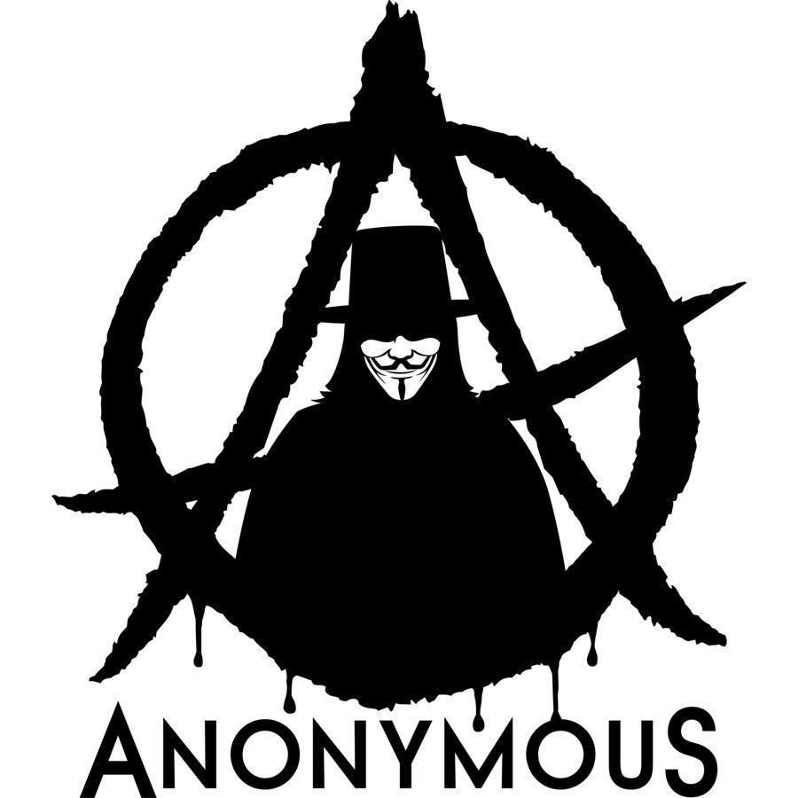 Pin On Anonymous Die Cut Stickers Decals