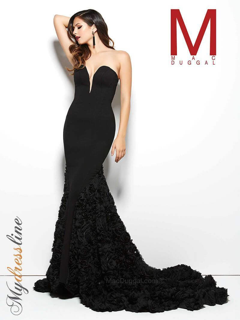 Mac duggal r long evening dress lowest price guarantee new