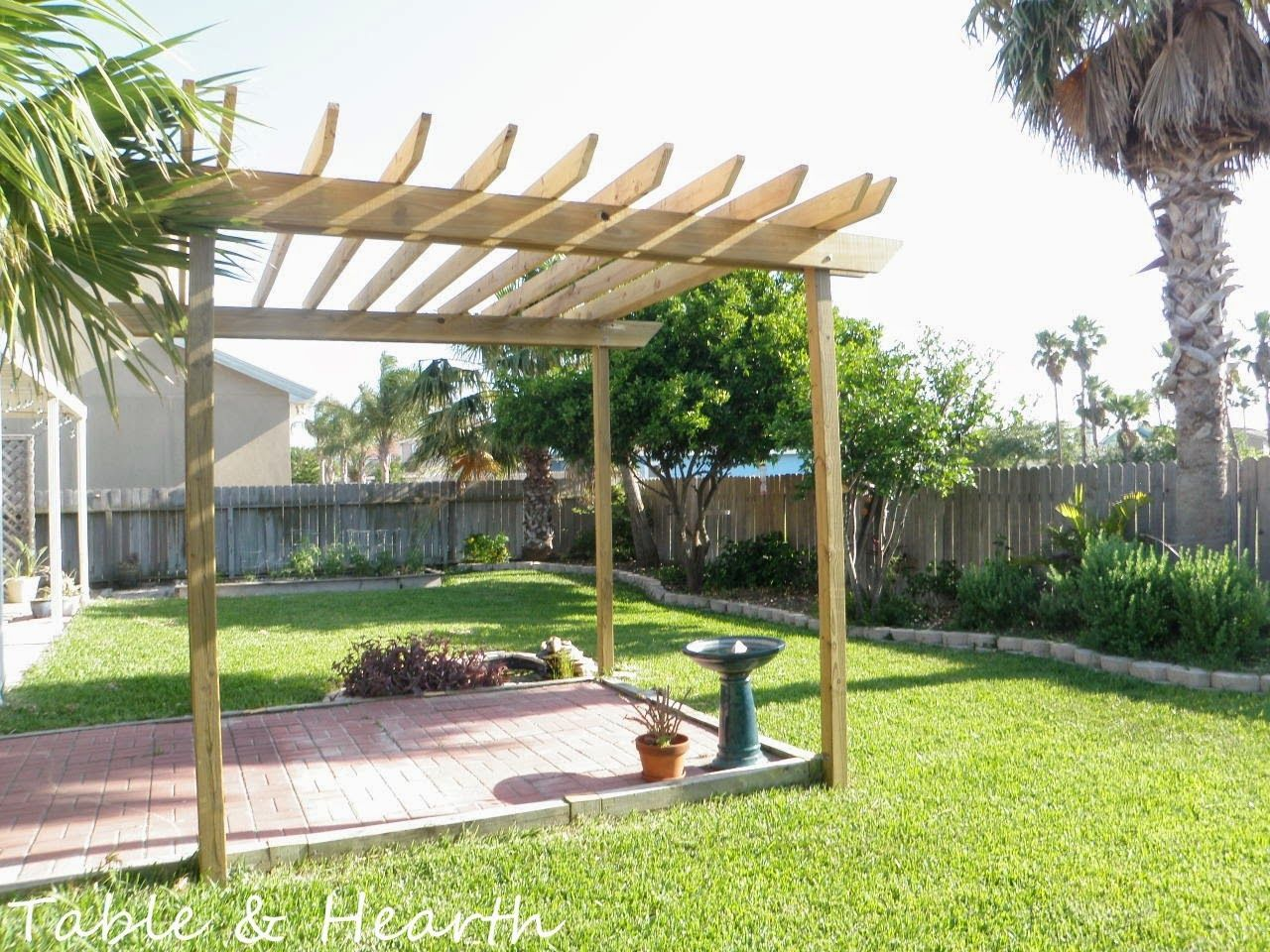 pergolicious our diy pergola table u0026 hearth our favorite