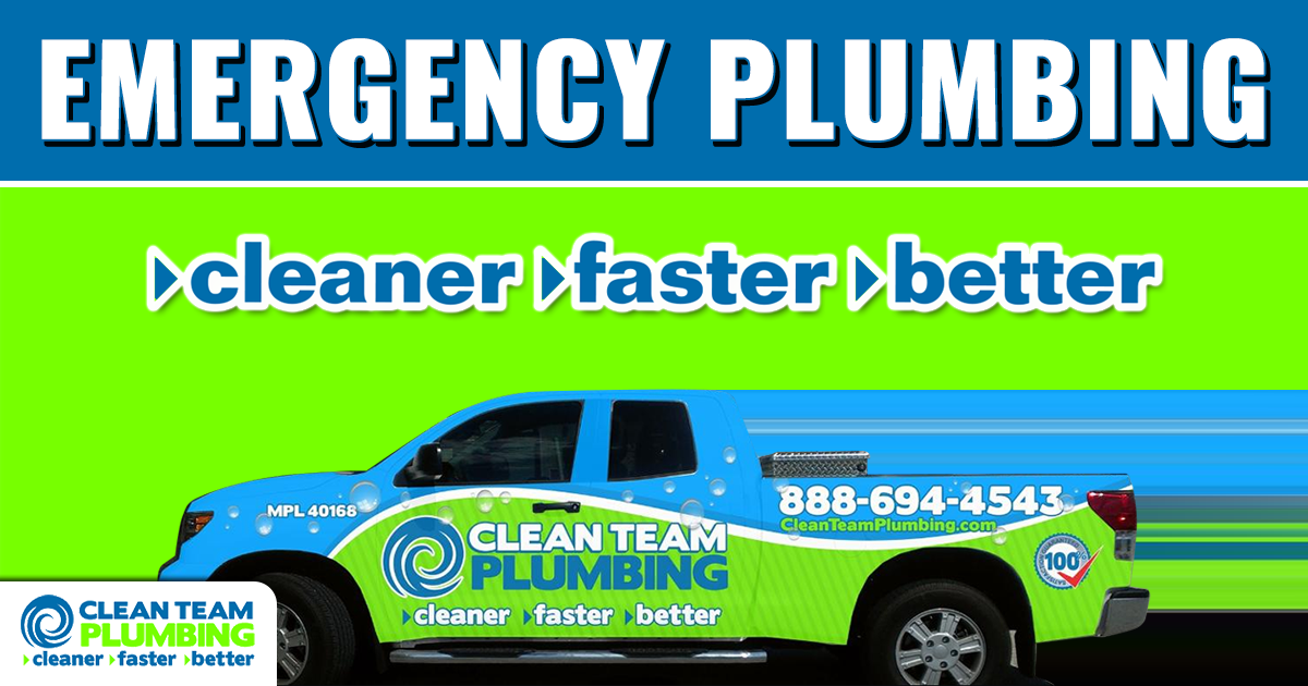 From Leaks To Repiping Our Professional Commercial And Residential Plumbers Have You Covered Call Clean Plumbing Emergency Plumbing Repair Types Of Plumbing