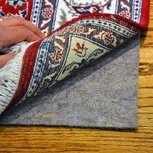 Deluxe Recycled Felt Rug Pad starts at just $21 for rectangular sizes. Recycled Felt Rug Pad is made of natural felt without any chemicals or adhesives. Our Deluxe recycled felt rug pad is made in USA and is safe for use on hardwood and all hard floors. FREE shipping on all orders!