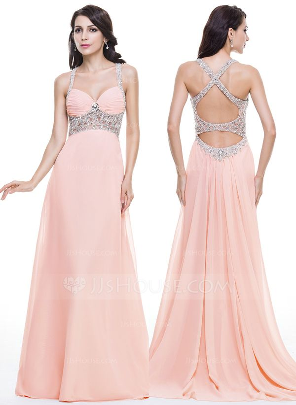 Trumpet/Mermaid Sweetheart Watteau Train Chiffon Tulle Evening Dress ...