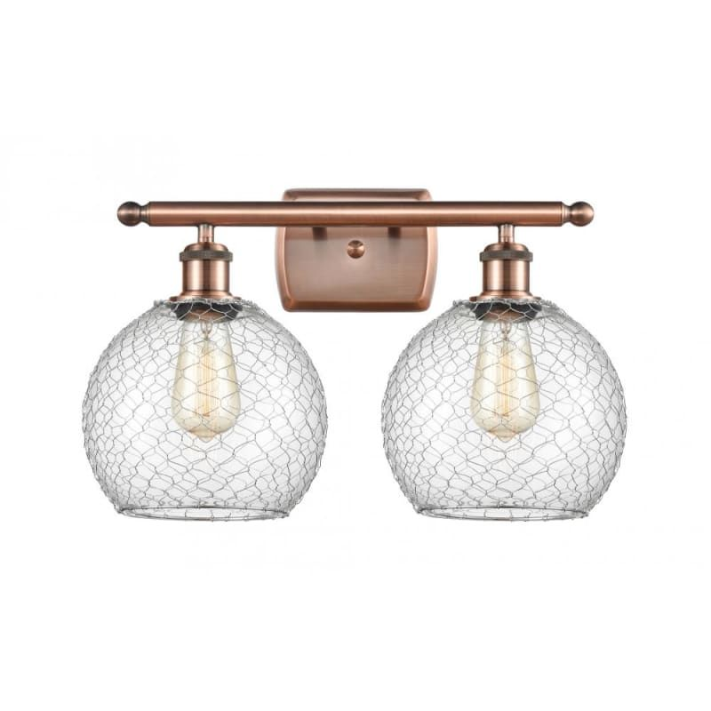 Photo of Innovations lighting 516-2W farmhouse chicken wire