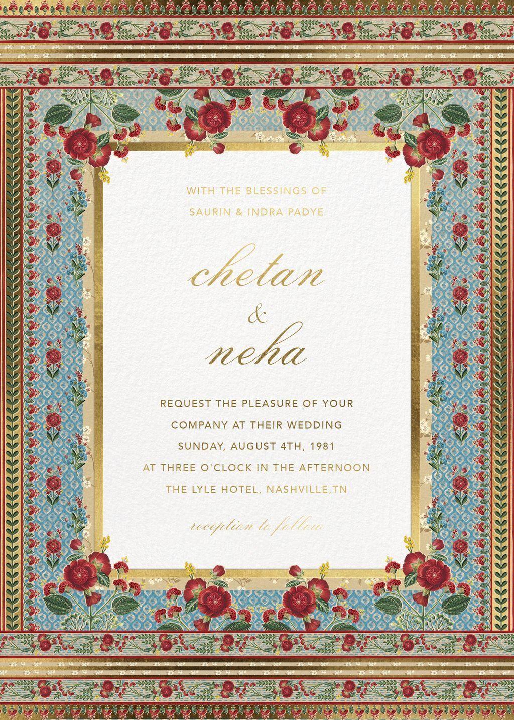 bespoke digital wedding invitations crafted with