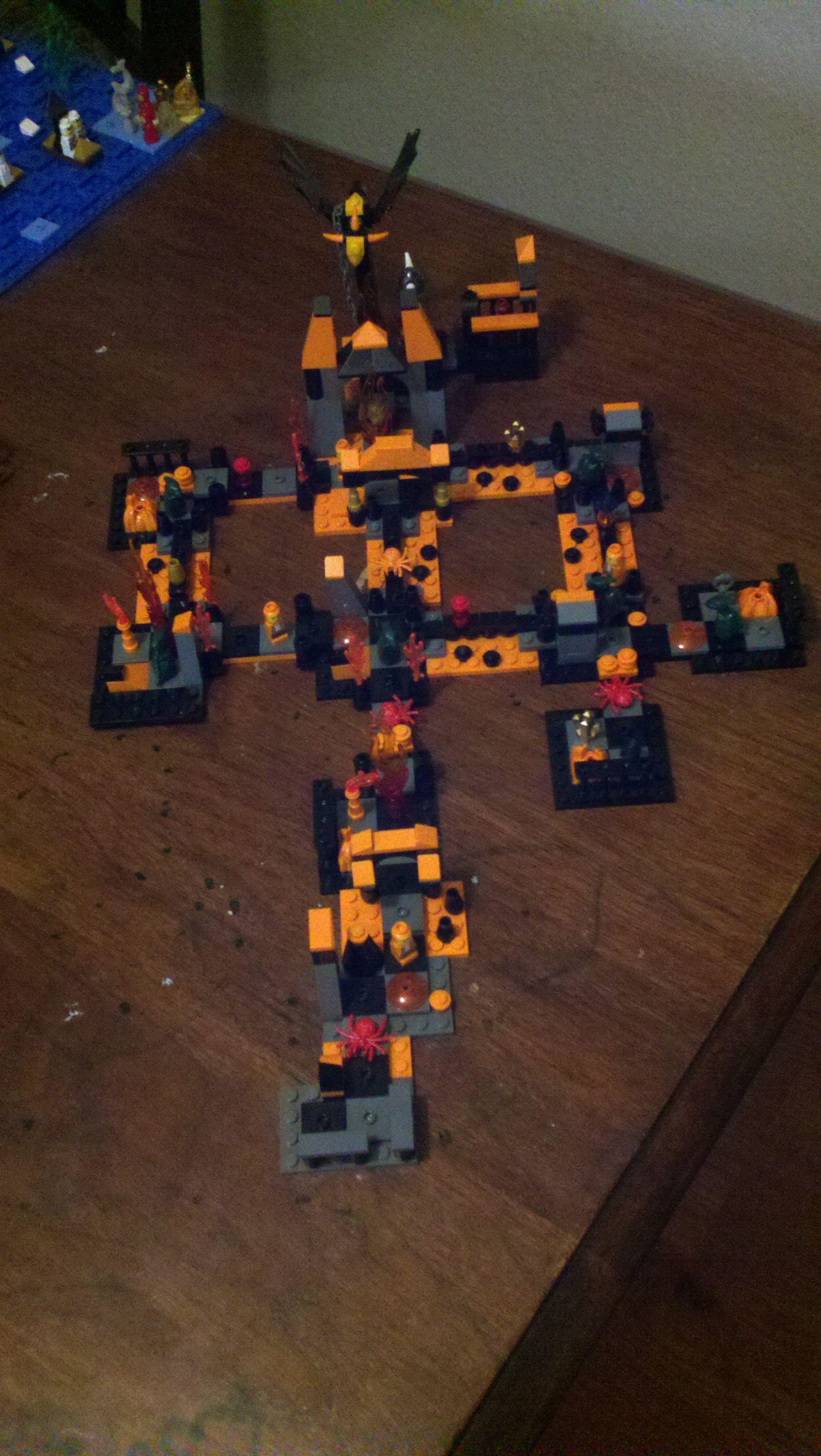 Lego lego heroica custom board map game rules