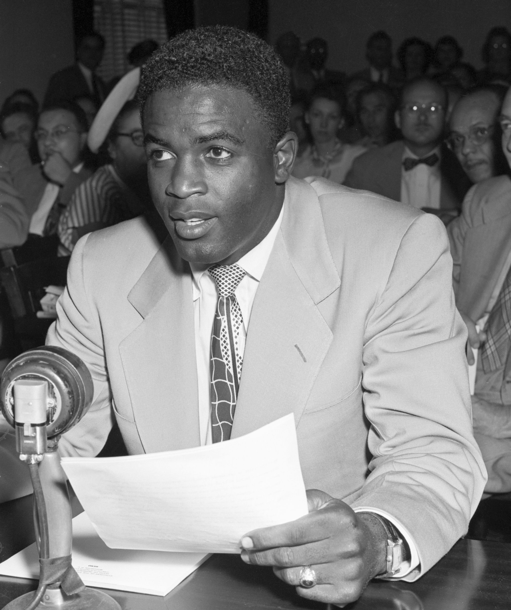 The Story Behind Jackie Robinson S Moving Testimony Before The House Un American Activities Committee Jackie Robinson Robinson Jackie