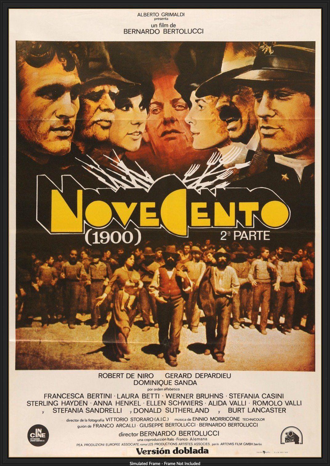 1900 1976 Bernardo Bertolucci Bernardo Epic Film
