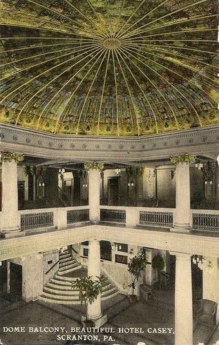 Dome Balcony In Hotel Casey