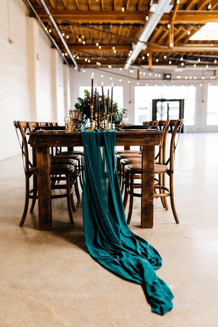 Jetzt ist dies, wie man eine kantige glamouröse Hochzeit hat   – Centerpiece Wedding Inspiration