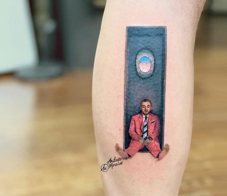 Mac Miller tattoo by Andrea Morales | Post 29487