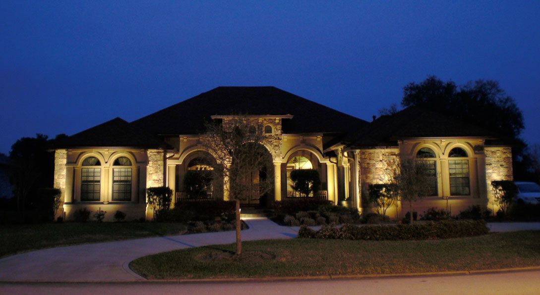 Dusk In The Suburbs Google Search Landscape Lighting Outdoor
