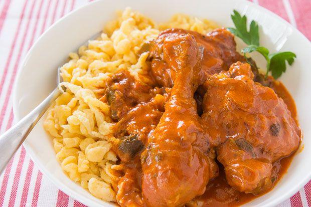 recipe: authentic chicken paprikash [9]