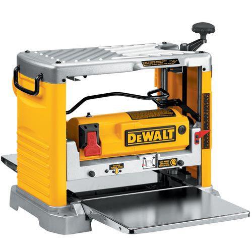 Dewalt Dw734 12 1 2 In Thickness Planer In 2020 Wood Planer Crib Woodworking Plans Dewalt