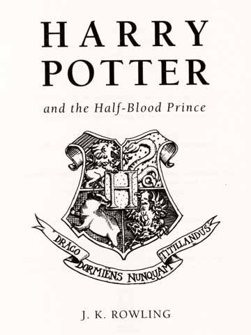 Harry Potter And The Half Blood Prince Logo em 2019