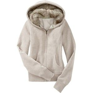 Women: Women's Faux Fur-Lined Hoodies - Ash Heather - Old Navy ...