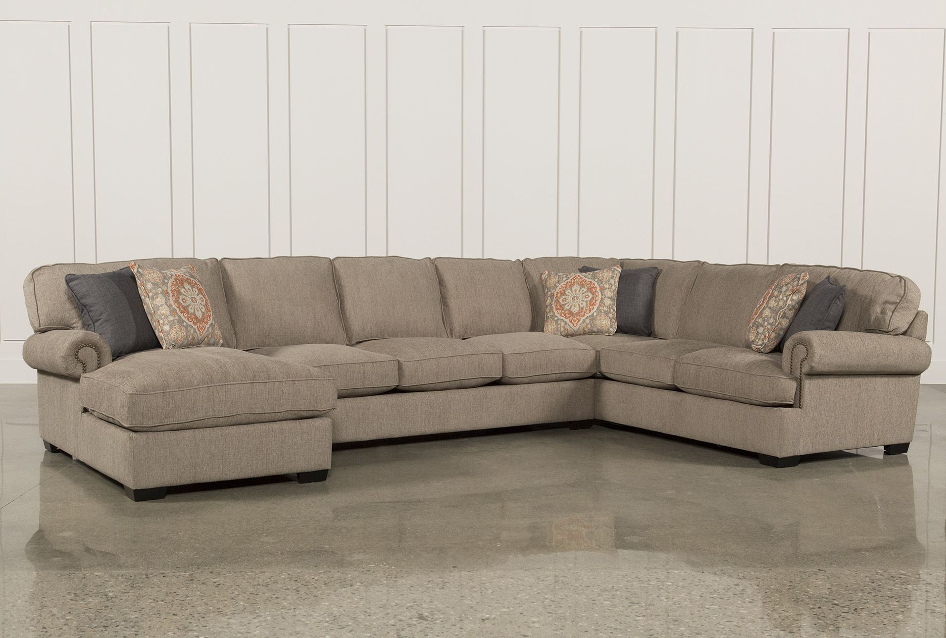 Milo Baughman 3 piece curving sectionalReupholstery style can be