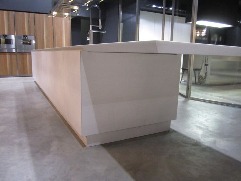 Best Boffi K14 Matt White Extra Large Handleless Island 400 x 300