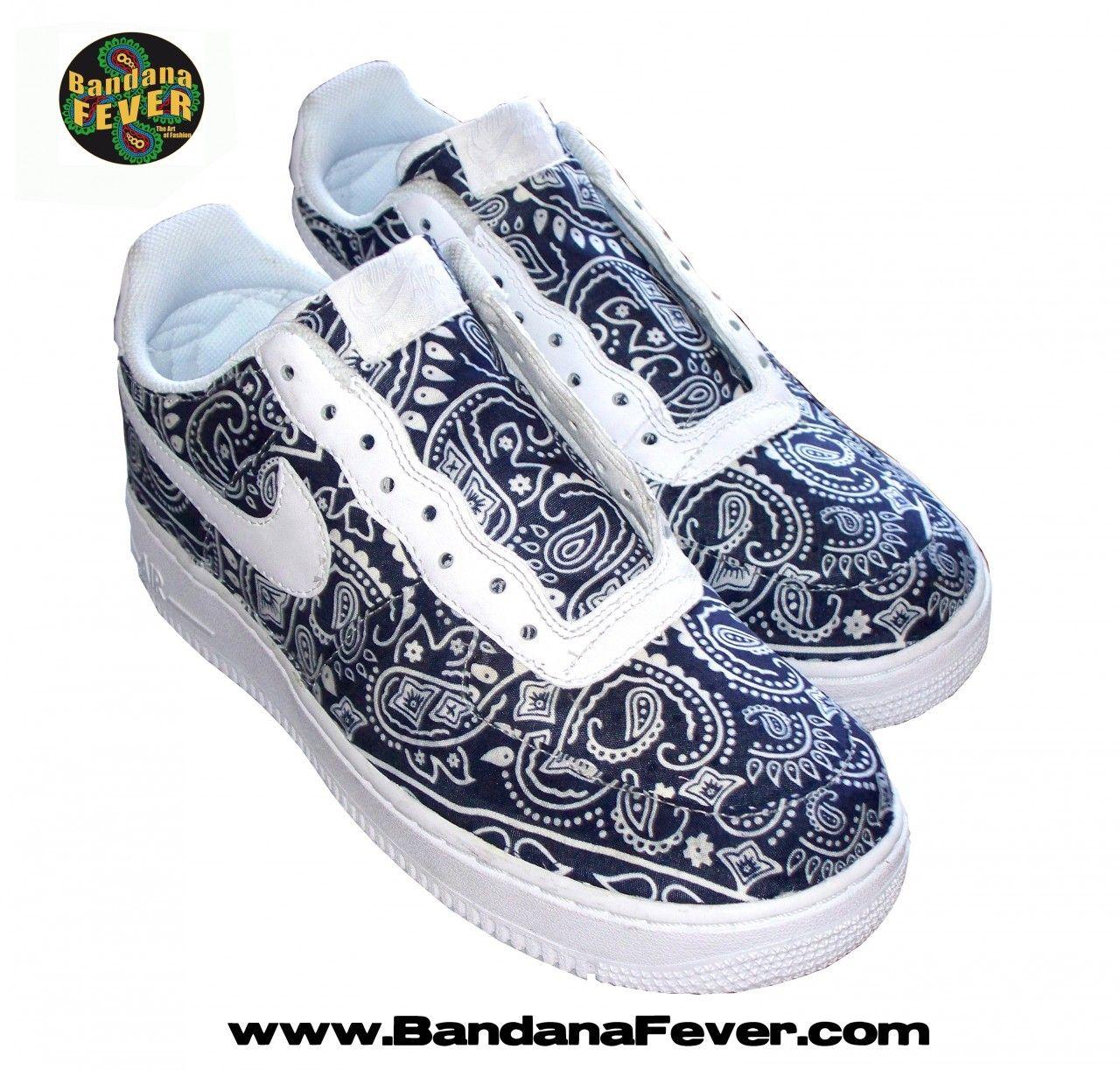 buy popular 8a283 9a656 australia customized houston texans nike sneakers mens white bandana fever  4404b 71206  coupon for nike air force 1 low custom a57a4 f13e1