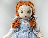 Dorotea - Handmade Collection Cloth Dolls by Manolitas