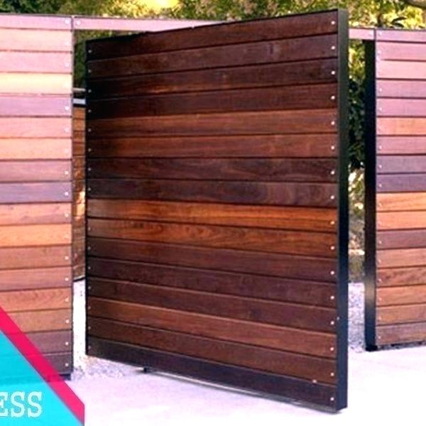 Modern Wood Gate Fences And Gates Wooden Side In 2020 Wood Gate Modern Gate Gate Design