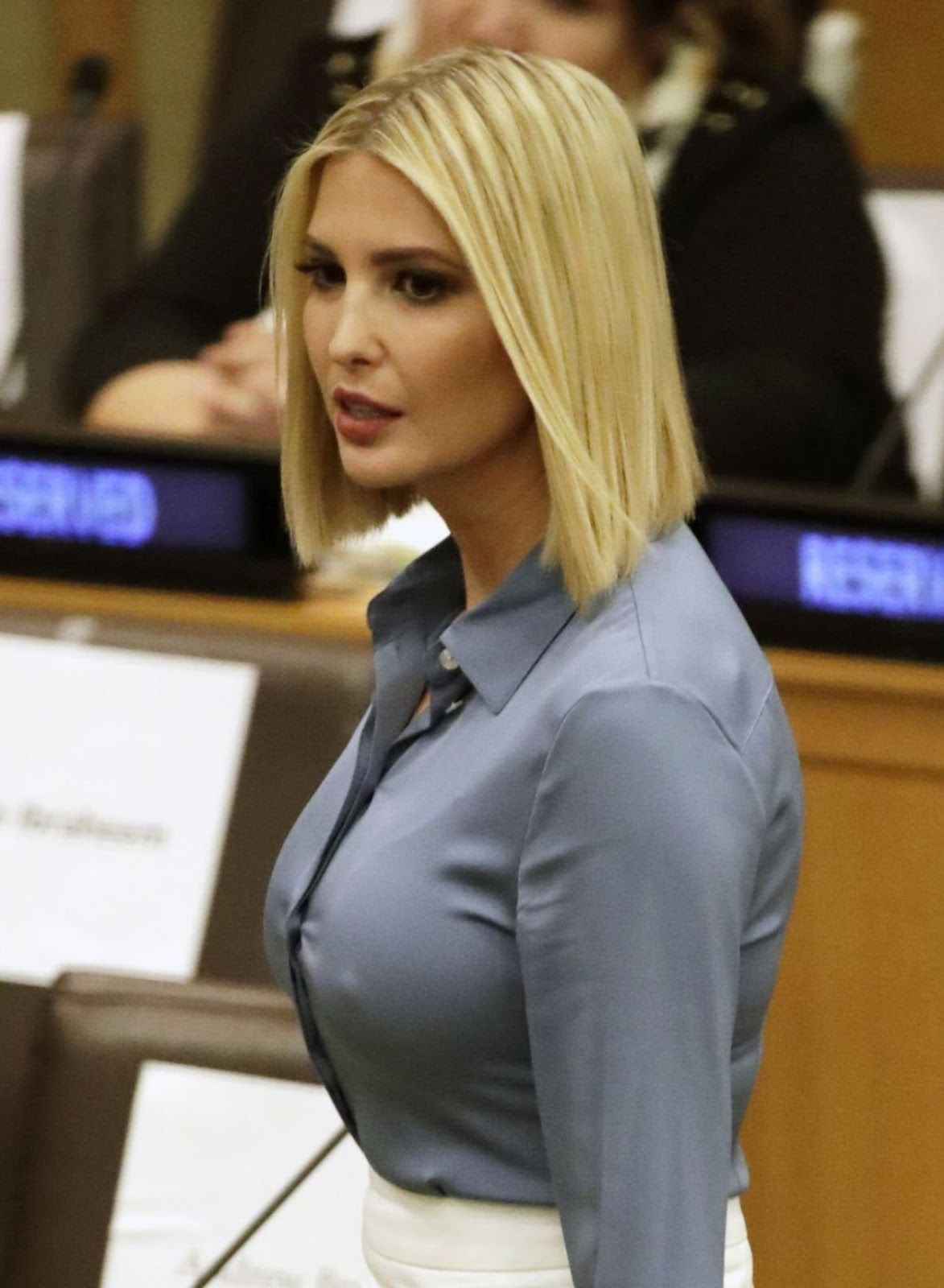 Ivanka Trump – Meeting at United Nations Headquarters in New York ...
