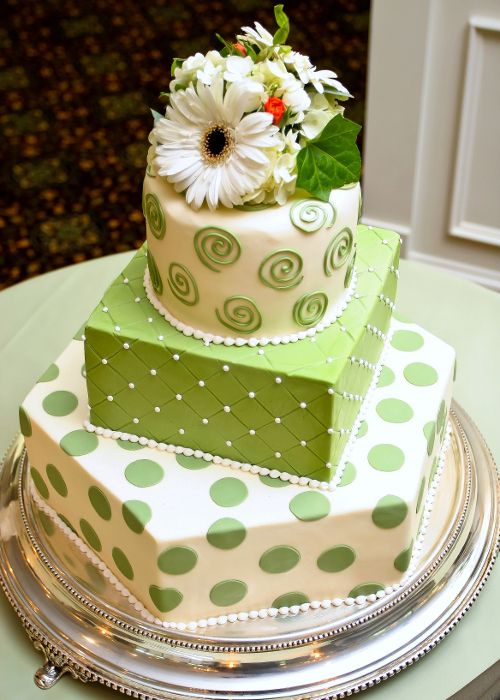 Gallery Cake Style#27- Wedding Cakes by Dianne Rockwell