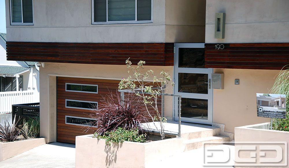 Modern Garage Door Matching Gate Design By Dynamic Garage Door