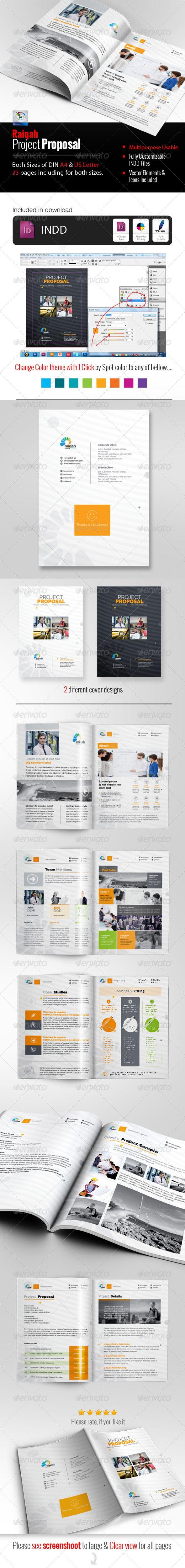 Raiqah Clean Proposal Creative u0026 Clean Corporate
