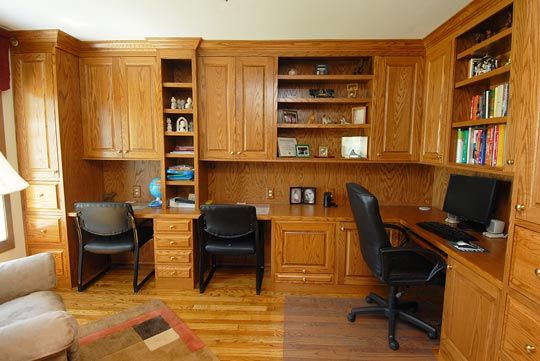 Custom Home Office Cabinets By Kenny79kline Deviantart Com On Deviantart Home Office Cabinets Home Office Shelves Home Office Furniture