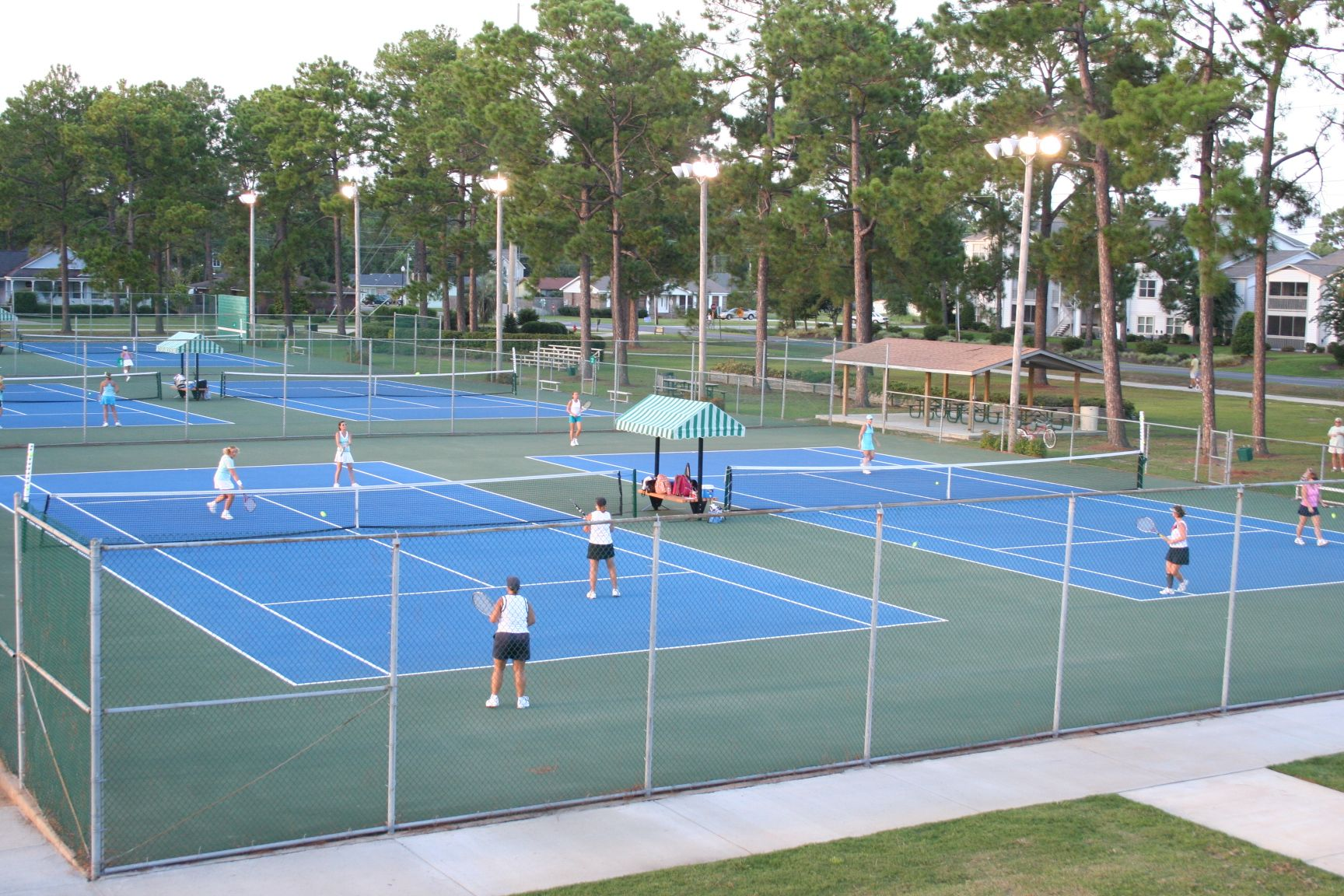 Located in Gulf Shores, The C. Meyer Tennis Center