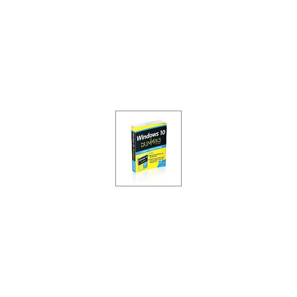 Windows 10 For Dummies Book For Dummies Mixed Media Product