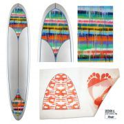 Surfboard Design, Single Elements on your Custom Surfboard. -If you need to cover only a part of your board. Choose your size and upload your file after order or choose a grafic of our gallery and tell us its name. FleeceOn™ Graficsilk/Cloth/Inlay