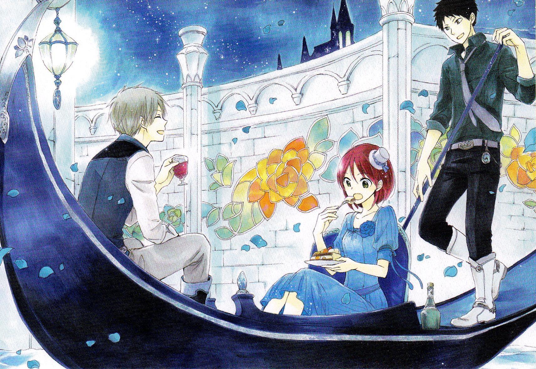 Zen & Shirayuki & Obi   Akagami no Shirayuki-hime #manga ...