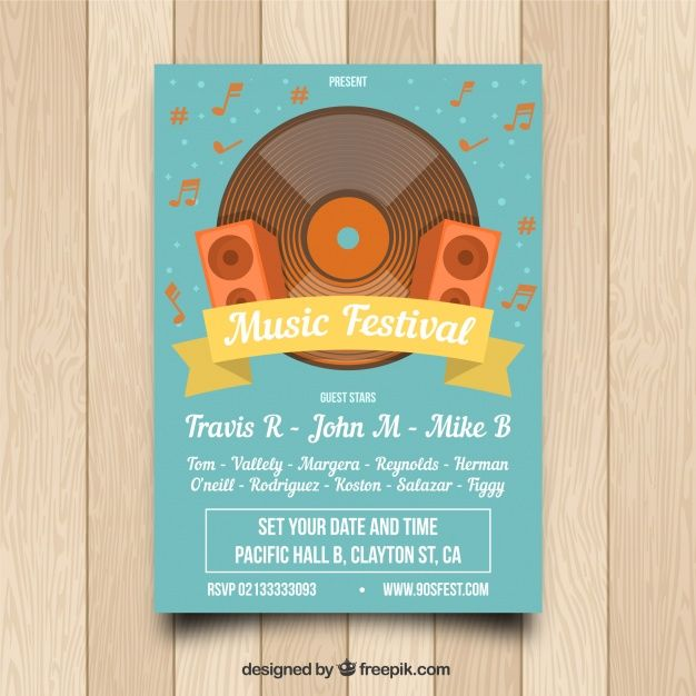 Download Vintage Music Poster Template For Free Music Poster Poster Template Free Vintage Music Posters