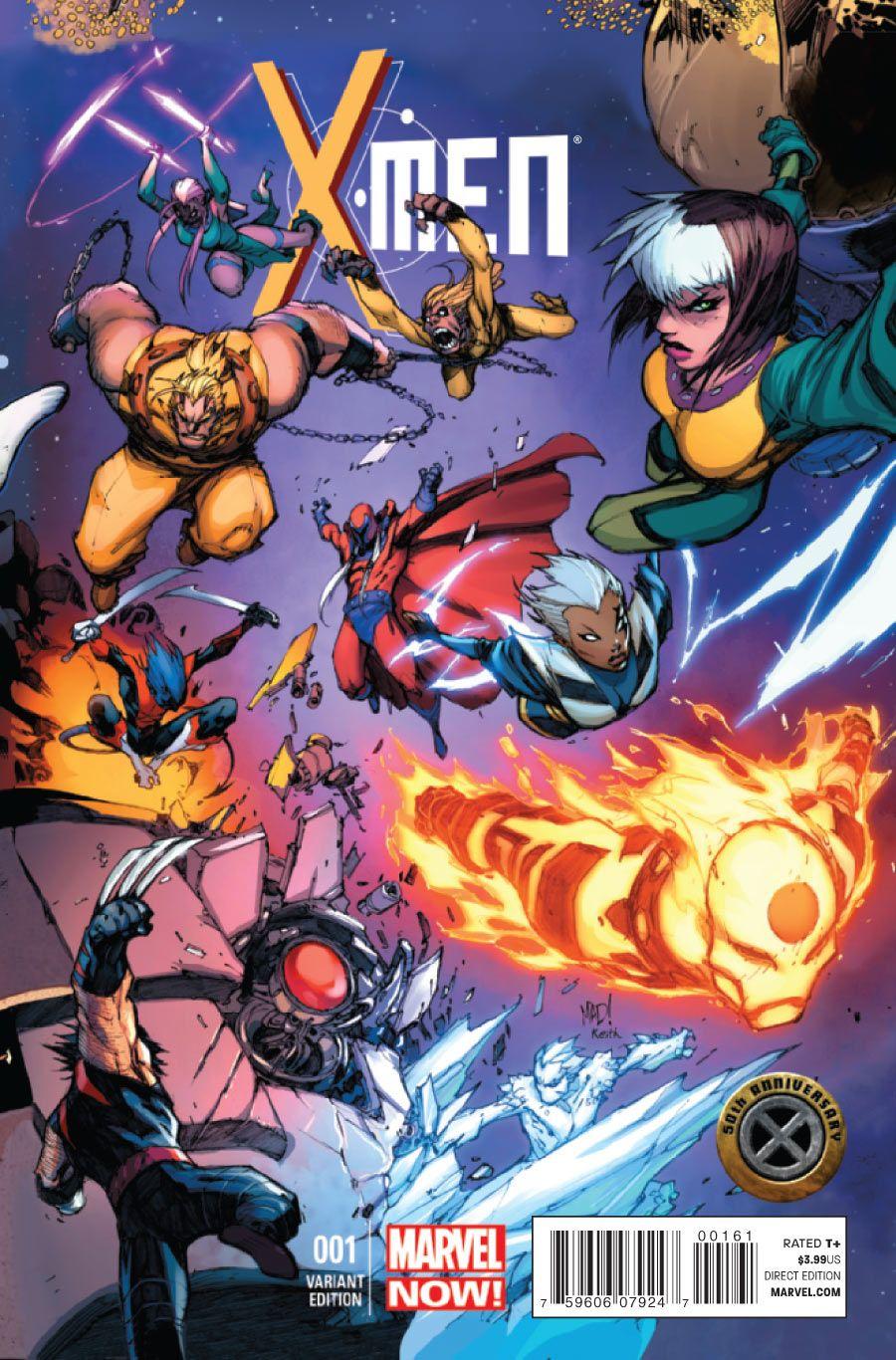 X Men Vol 2 1 Variant Cover By Joe Madureira Joe Madureira Marvel Comics Art Comics